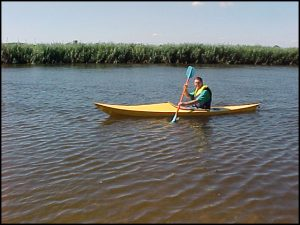 Bob in Kayak